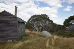 Hut, Alpine National Park, VIC