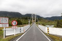 One way Bridge, NZ