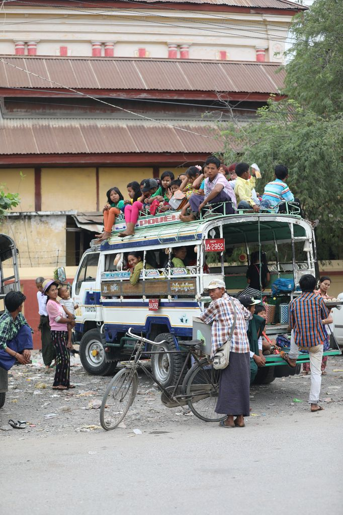 Taxi, Mandalay, MY