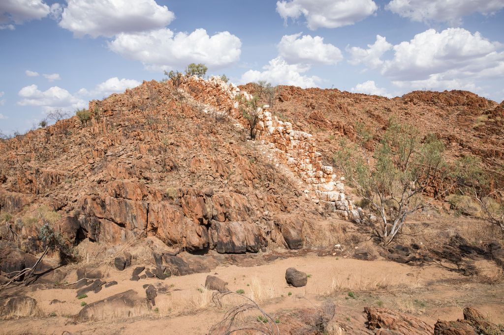 Chinese Wall, Felsformation, Halls Creek WA