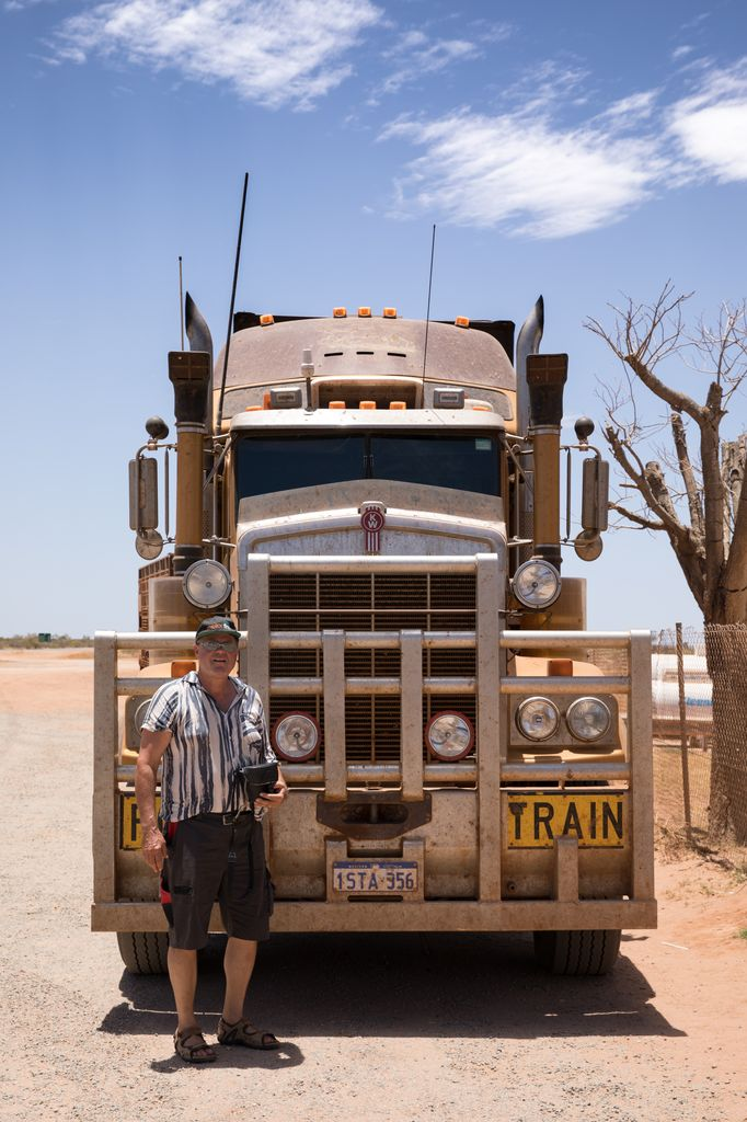 Road Train WA AUS